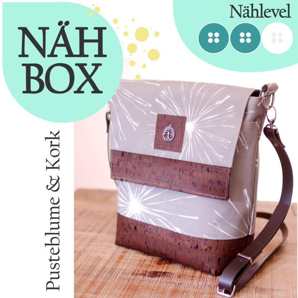 Nähbox 'Amber' - Pusteblume & Kork