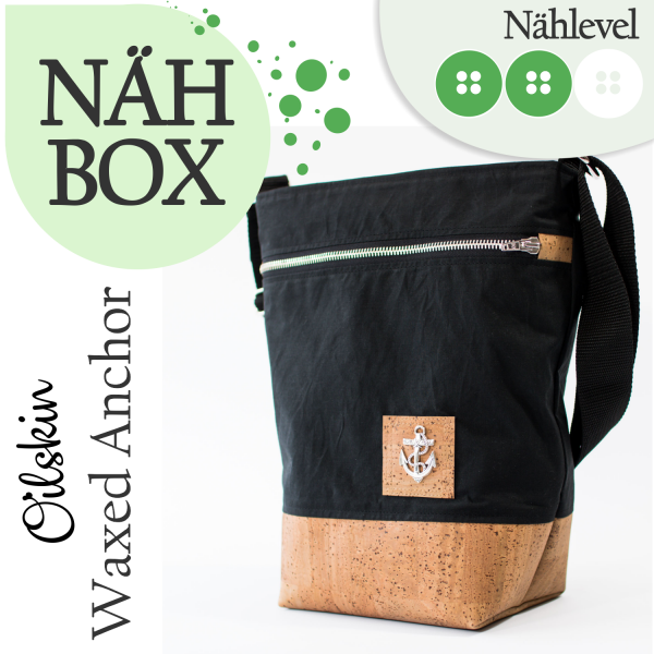 Nähbox Umhängetasche - Waxed Anchor