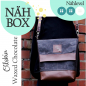 Preview: Nähbox 'Amber' - Waxed Chocolate