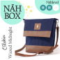 Preview: Nähbox 'Amber' - Waxed Midnight