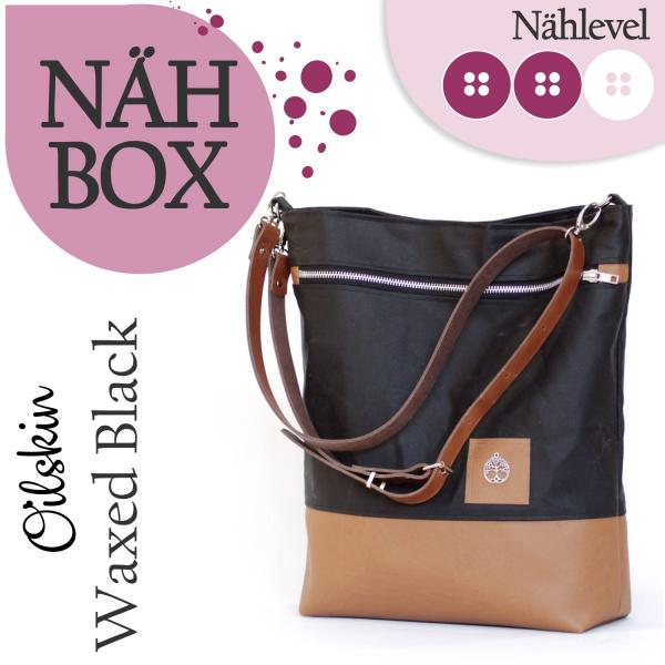 Nähset Shopper - Waxed Black