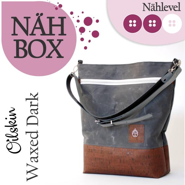 Nähset Shopper - Waxed Dark
